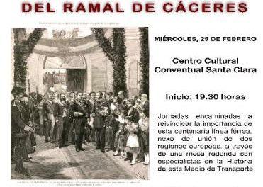 Extremadura y Portugal analizarán en Valencia de Alcántara el pasado y futuro del ramal de Cáceres