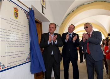 """Monago pone a Guadiana del Caudillo como ejemplo de """"trabajo, unión y lucha"""" en la independencia de la localidad"""