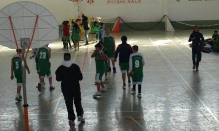 Ochenta escolares participan en la concentración JUDEX  de baloncesto que se celebró en Moraleja