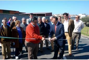 Laureano León  inaugura las obras de mejora de la carretera CC-54 entre Navalmoral y Bohonal