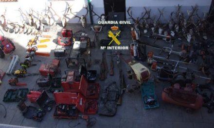 """La Guardia Civil detiene a cuatro personas por los delitos de robo con fuerza en la operación """"Villuercas"""""""