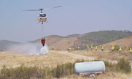 Medio Ambiente activa en Pinofranqueado un dispositivo de refuerzo de extinción de incendios