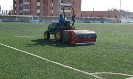 El Ayuntamiento de Moraleja acomete varios trabajos de mantenimiento en las instalaciones deportivas