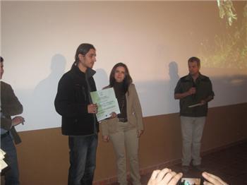 Los ganadores del concurso de fotos FIO 2012 reciben sus galardones en el marco del certamen ferial
