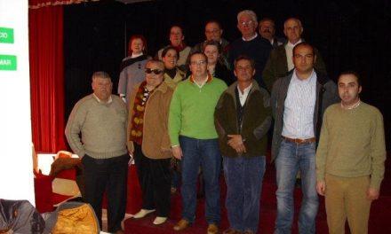 La Junta Comarcal de Alcántara del PP sienta las bases del 2008 y nombra a dos nuevos miembros