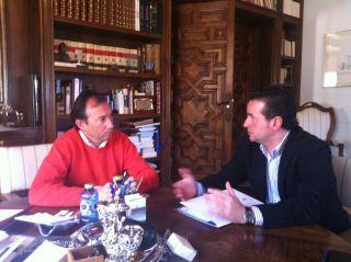 Moraleja aborda con la Diputación de Cáceres su colaboración en la XVI edición de Feria Rayana