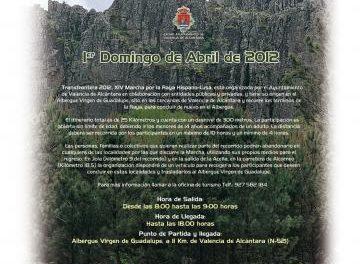 Cientos de senderistas participarán este domingo en la Ruta Transfrontera por Valencia de Alcántara
