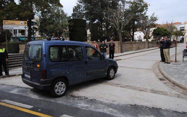 El consistorio de Valencia de Alcántara abre al tráfico rodado el Paseo de San Francisco tras dos meses de obras
