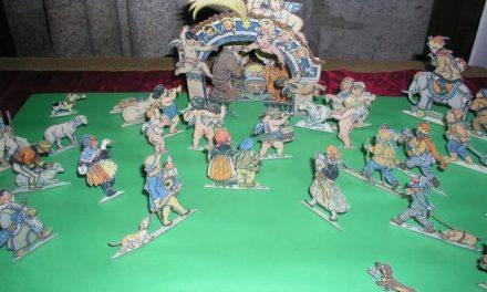 La Catedral de Coria expone hasta el 7 de enero una colección de 20 belenes elaborados con papel