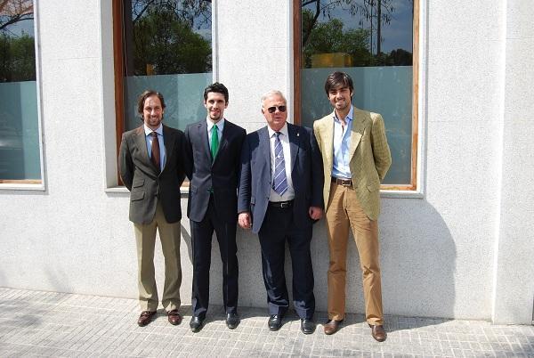La Unión de Toreros muestra en Badajoz su apoyo a la Feria del Toro y Feria del Caballo 'Ecuextre 2012'