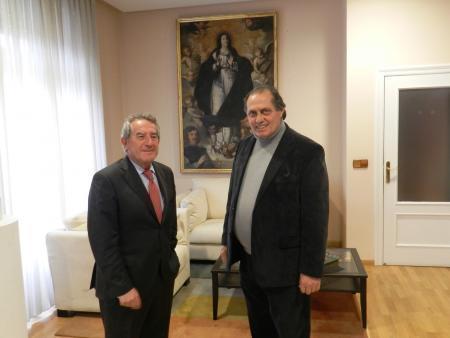 Antonio Fernández y Mariano Gallego repasan los temas más importantes para la ciudad de Don Benito