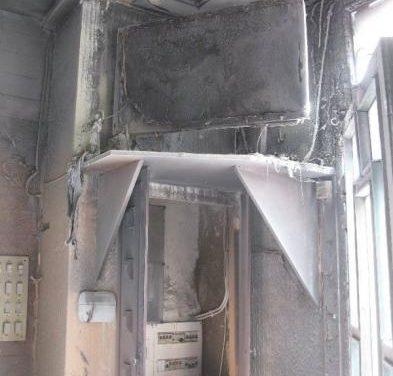 El incendio originado por un cortocircuito en un televisor ocasiona daños materiales en un bar de Moraleja