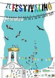 El Festivalino 2012 ofrecerá en Pescueza conciertos, talleres y actividades gratuitas del 27 al 29 de abril