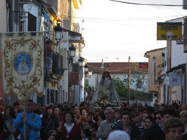 Las fiestas en honor de la santísima Virgen de la Vega se desarrollarán del 22 de abril al 6 de mayo