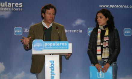 Alberdi pide a Vara que trabaje por Extremadura y  que reme en la misma dirección que  Monago