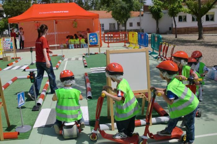 Moraleja celebrará durante el mes de abril las jornadas de educación vial para escolares con un parque de tráfico