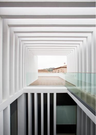 El hotel Atrio de Cáceres ha sido elegido para representar a España en la VIII Bienal de Arquitectura y Urbanismo