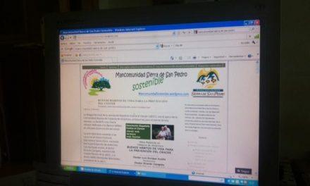 La Mancomundidad Sierra de San Pedro promueve a través de su web el desarrollo sostenible de la comarca