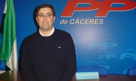 El PP de Trujillo pide al PSOE que asuma los resultados electorales y critica el parón de varios proyectos