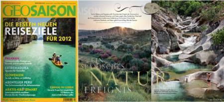 Extremadura entre los mejores destinos para visitar en 2012, según la prestigiosa revista alemana GeoSaison