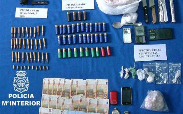 Desarticulada una red organizada que traficaba con sustancias estupefacientes en Mérida y Badajoz