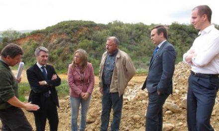 Teniente reitera el interés del Gobierno regional en agilizar los trámites de explotación de la mina Santa María