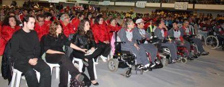 El Gobierno de Extremadura muestro su apoyo al deporte especial durante la inauguración de los JEDES