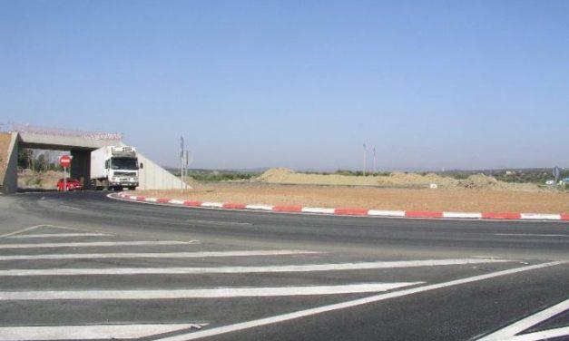 La vía rápida desde el cruce de Portaje al enlace de la autovía A-66 en la EX-109 se abrirá este año