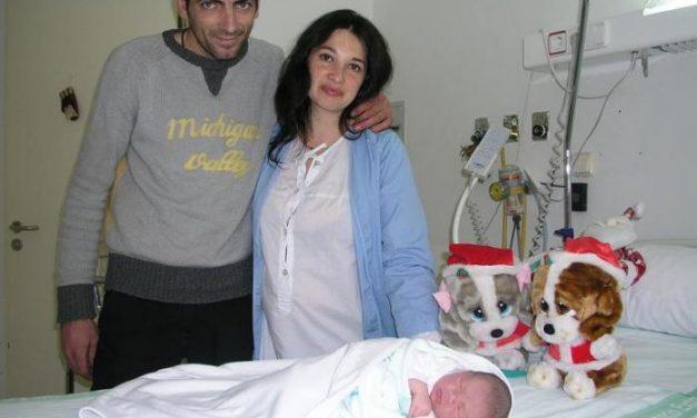 El primer nacimiento de Extremadura del año 2008 se registra en el Hospital Ciudad de Coria