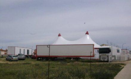 La trapecista del circo Tonelly que resultó herida ha sido operada y se recupera en el Hospital Ciudad de Coria
