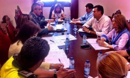 Las fiestas de San Juan centran la reunión de La Junta Local de Seguridad en el Ayuntamiento de Coria