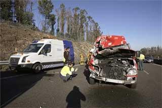 El número de extremeños fallecidos en las carreteras no varía en 2007 respecto a las víctimas del 2006