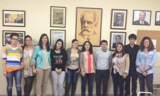 Coral Hernández Lorenzo ha sido elegida nueva Secretaria General de Juventudes Socialistas de Coria