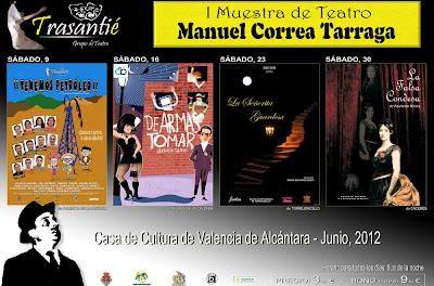 El grupo de teatro Trasantié de Valencia de Alcántara organiza una muestra de teatro para el mes de junio