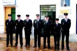 Cinco funcionarios de policías harán prácticas en la comisaría de Almendralejo durante nueve meses