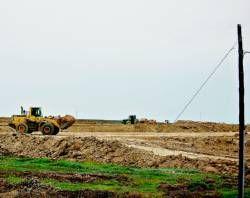 La nueva industria tomatera de Miajadas, Tomcoex, inicia los trabajos de construcción en las márgenes de la N-V