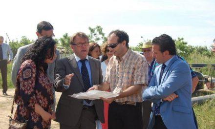Fomento invertirá en la estación depuradora de Moraleja un montante de 2,6 millones de euros