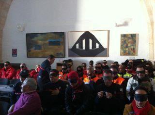 Voluntarios de Protección Civil se formarán en Hervás en situaciones de riesgo y castástrofe