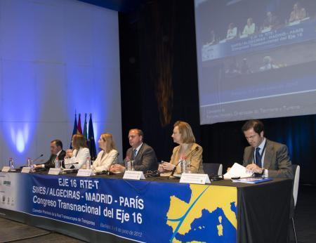 Monago firma un protocolo general de defensa del Eje 16 con Madrid, Castilla La Mancha y Aragón