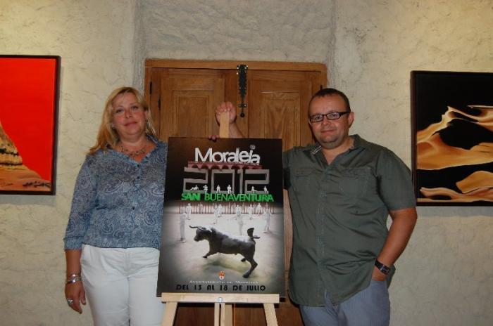 Un vecino de Moraleja gana el concurso del cartel que anunciará las fiestas de San Buenaventura 2012