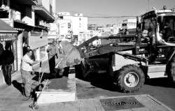 El Ayuntamiento de Almendralejo se encargará de sembrar plantas en la calle Vistahermosa