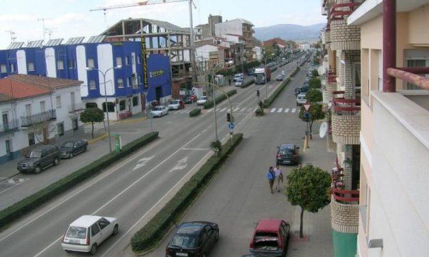 La Junta de Extremadura comienza a ejecutar las obras de la avenida principal de Moraleja