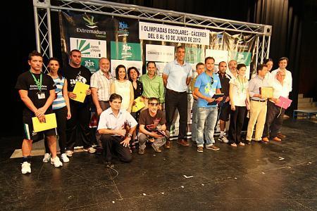 Antonio Pedrera clausura las I Olimpiadas Escolares en las que han participado más de 900 deportistas