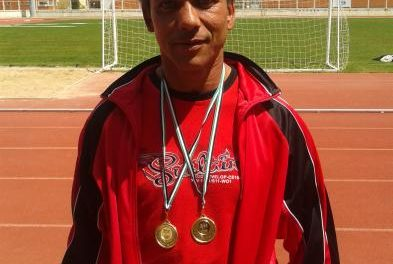 Un atleta de San Vicente de Alcántara se proclama Campeón de España en lanzamiento de jabalina