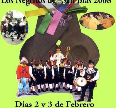 Un cartel de José María Garrido representará la fiesta de San Blas de Los Negritos de Montehermoso