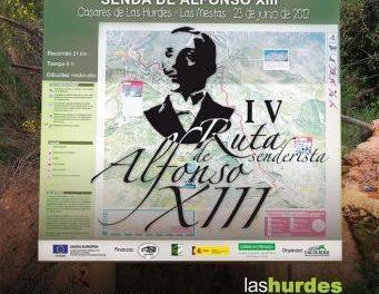 La Mancomunidad de Las Hurdes organiza para este sábado la IV edición de la ruta de Alfonso XIII