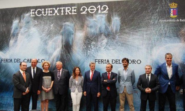 Ecuextre 2012 abre sus puertas en Badajoz con la presencia de los diestros Espartaco y Perera