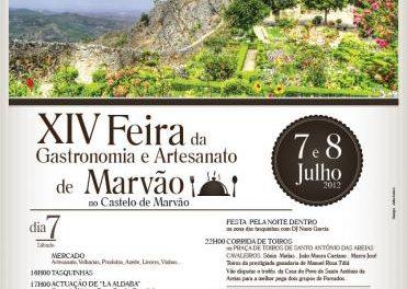 La villa lusa de Marvâo acogerá en julio la XIV Feria de la Gastronomía y la Artesanía