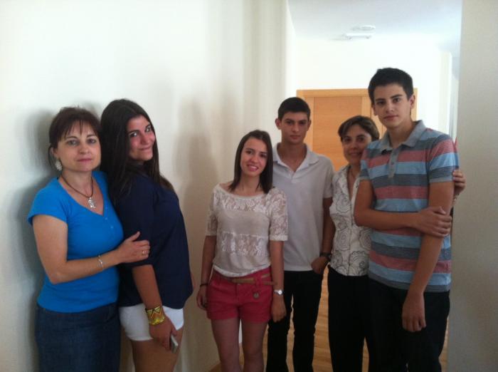 Alumnos del IES Jálama con mejores expedientes reciben un reconocimiento en el Ayuntamiento de Moraleja
