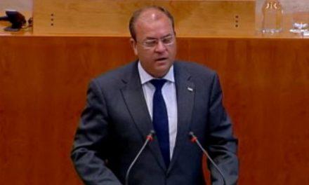 Monago critica el pacto fiscal catalán en el discurso de apertura del debate sobre el estado de la región